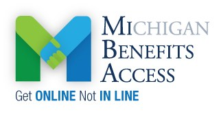 MI Benefits Access Logo