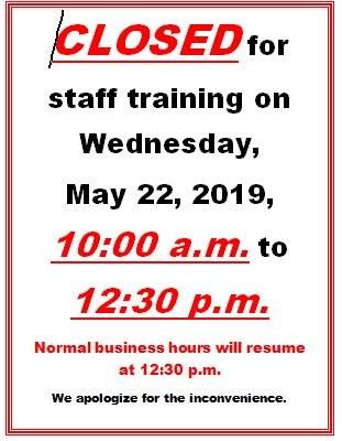 closed for staff training.JPG